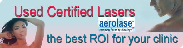 used certified lasers from Aerolase