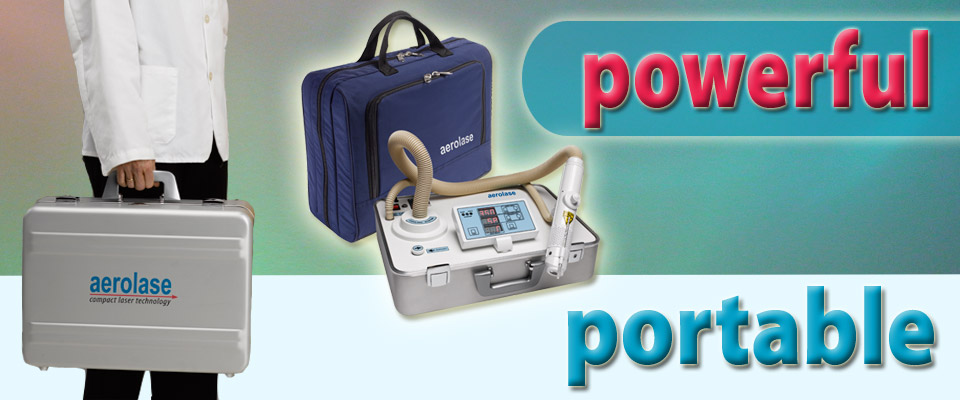 powerful yet portable device for skin and veins laser centers